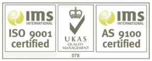 AS9100 & ISO9001 logo