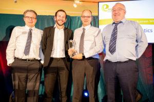 Key Plastics Directors receive award